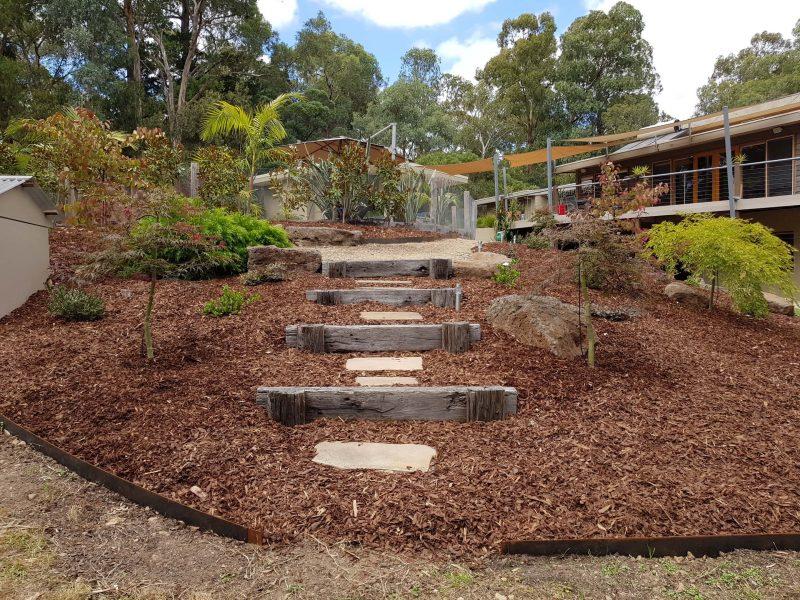 Steps gardening eastern suburbs