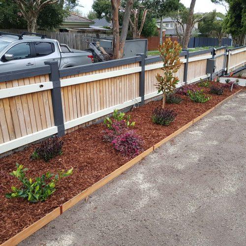 Jays Gardening Garden makeover with edging Furst 3